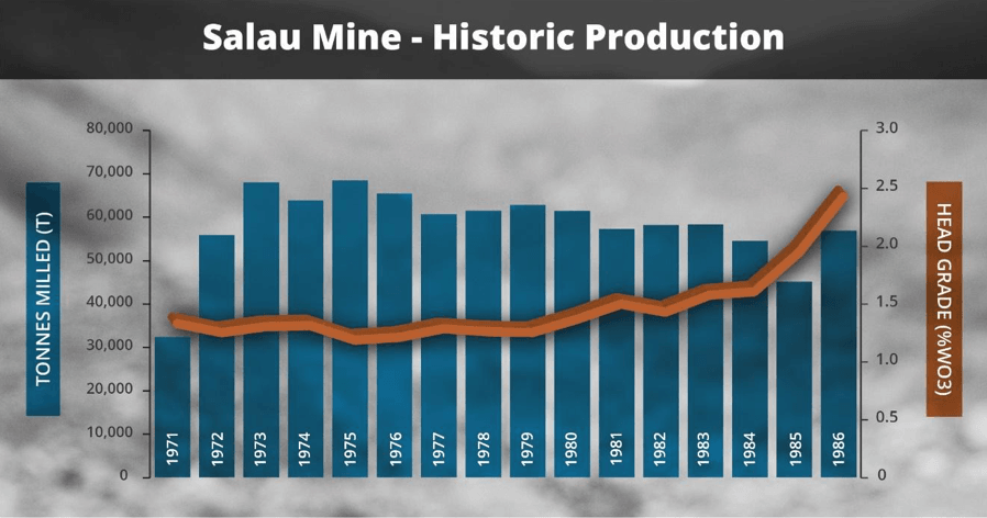 Apollo Minerals Limited - Mine Salau - Tungsten Salau Mine Salat Couflens France